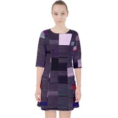 Thedataleek Black-arrow s Blackarrow-py Glitch Code Dress With Pockets by HoldensGlitchCode