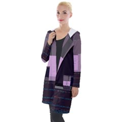 Viddeliten Shell s Index-php Glitch Code Hooded Pocket Cardigan by HoldensGlitchCode