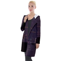 Infotroph Efrhizo s Mctd Foursurf-sh Glitch Code Hooded Pocket Cardigan by HoldensGlitchCode