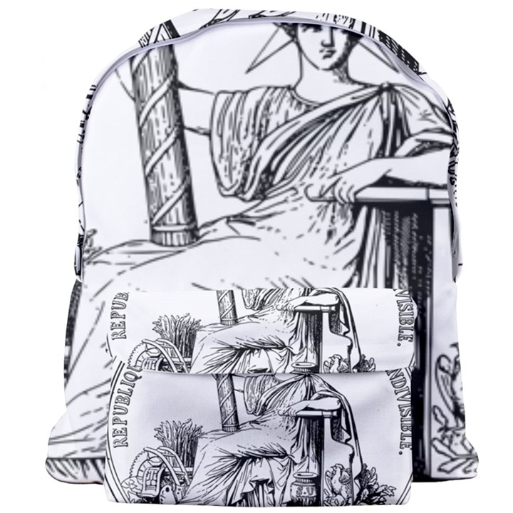 Great Seal of France Giant Full Print Backpack