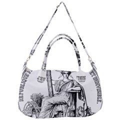 Great Seal Of France Removal Strap Handbag by abbeyz71