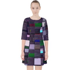 Tensorflow Tensor2tensor s Transformer-py Glitch Code Dress With Pockets by HoldensGlitchCode