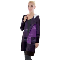 Citusdata Postgresql-topn s Topn-c Glitch Code Hooded Pocket Cardigan by HoldensGlitchCode