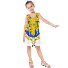 Coat O Arms Of The French Republic Kids  Sleeveless Dress by abbeyz71