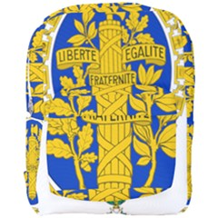 Coat O Arms Of The French Republic Full Print Backpack by abbeyz71