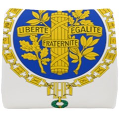 Coat O Arms Of The French Republic Seat Cushion by abbeyz71