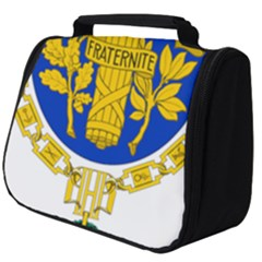 Coat O Arms Of The French Republic Full Print Travel Pouch (big) by abbeyz71