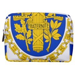 Coat O Arms Of The French Republic Make Up Pouch (medium) by abbeyz71