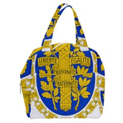 Coat O Arms Of The French Republic Boxy Hand Bag by abbeyz71