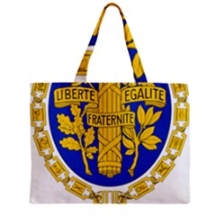 Coat Of Arms Of The French Republic Zipper Mini Tote Bag by abbeyz71
