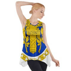 Coat Of Arms Of The French Republic Side Drop Tank Tunic by abbeyz71