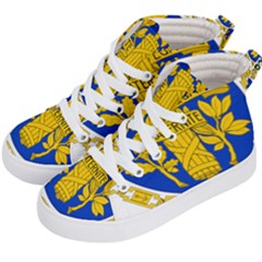 Coat Of Arms Of The French Republic Kids  Hi-top Skate Sneakers by abbeyz71