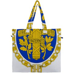 Coat Of Arms Of The French Republic Canvas Travel Bag by abbeyz71