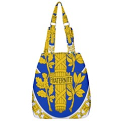 Coat Of Arms Of The French Republic Center Zip Backpack by abbeyz71