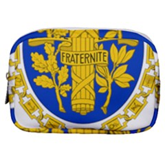 Coat Of Arms Of The French Republic Make Up Pouch (small) by abbeyz71