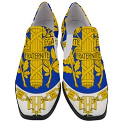 Coat Of Arms Of The French Republic Women Slip On Heel Loafers by abbeyz71