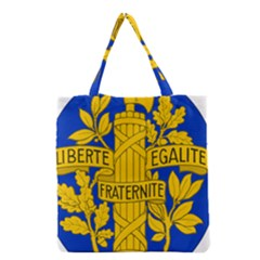 Arms Of The French Republic Grocery Tote Bag by abbeyz71