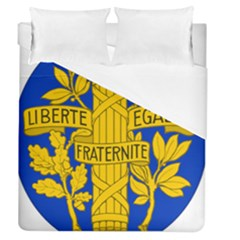 Arms Of The French Republic Duvet Cover (queen Size) by abbeyz71