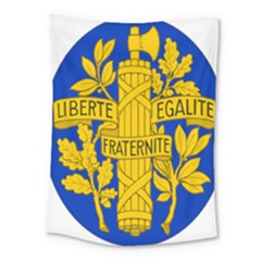 Arms Of The French Republic Medium Tapestry by abbeyz71