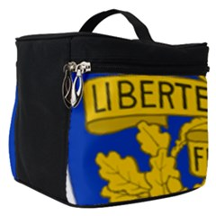 Arms Of The French Republic Make Up Travel Bag (small) by abbeyz71