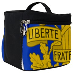 Arms Of The French Republic Make Up Travel Bag (big) by abbeyz71