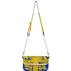 Arms Of The French Republic Mini Crossbody Handbag by abbeyz71