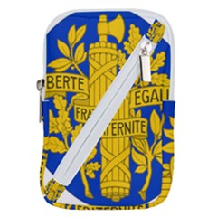 Arms Of The French Republic Belt Pouch Bag (small) by abbeyz71