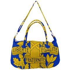 Arms Of The French Republic Removal Strap Handbag by abbeyz71
