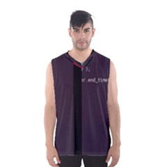 Rogeruiz Tick s Main-rs Glitch Code Boxy Basketball Tank Top by HoldensGlitchCode