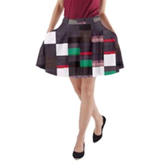 Alexia Php7mar s Scanner-php Glitch Code Aline Pocket Skirt by HoldensGlitchCode