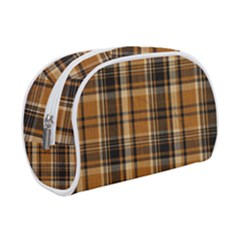Tartan Design Makeup Case (small) by impacteesstreetwearfour