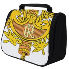 French Republic Diplomatic Emblem Full Print Travel Pouch (big) by abbeyz71