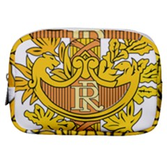 French Republic Diplomatic Emblem Make Up Pouch (small) by abbeyz71