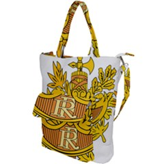 French Republic Diplomatic Emblem Shoulder Tote Bag by abbeyz71