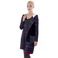 Sanity-io Sanity s Richdate-js Glitch Code Hooded Pocket Cardigan by HoldensGlitchCode