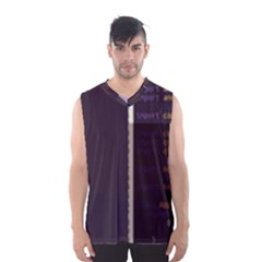 Mazurio Bodyweight-fitness-android s App-kt Glitch Code Boxy Basketball Tank Top by HoldensGlitchCode