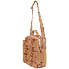 Background Wallpaper Brown Crossbody Day Bag