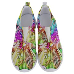 Music Abstract Sound Colorful No Lace Lightweight Shoes by Mariart