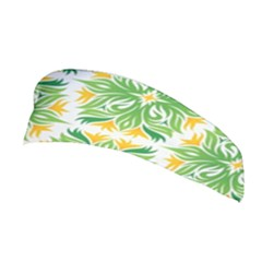 Green Pattern Retro Wallpaper Stretchable Headband