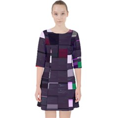 Ebarsallo Qgj s Intentfuzzer Java Glitch Code Dress With Pockets by HoldensGlitchCode