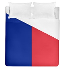 Flag Of Paris Duvet Cover (queen Size) by abbeyz71