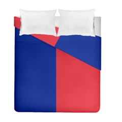 Flag Of Paris Duvet Cover Double Side (full/ Double Size) by abbeyz71