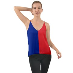 Flag Of Paris Chiffon Cami