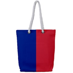 Flag Of Paris Full Print Rope Handle Tote (small) by abbeyz71