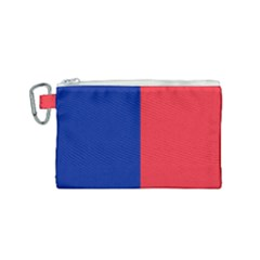 Flag Of Paris Canvas Cosmetic Bag (small) by abbeyz71