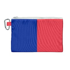 Flag Of Paris Canvas Cosmetic Bag (large) by abbeyz71