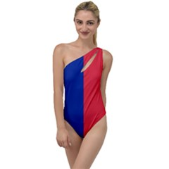 Flag Of Paris To One Side Swimsuit by abbeyz71