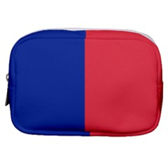 Flag Of Paris Make Up Pouch (small) by abbeyz71