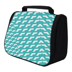 Background Pattern Colored Full Print Travel Pouch (small)