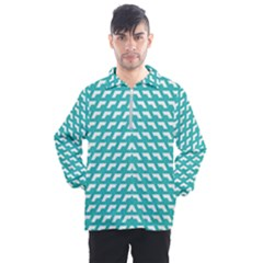 Background Pattern Colored Men s Half Zip Pullover